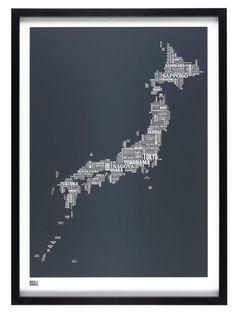 Japan Type Map