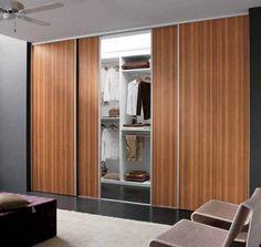 Fixed Wardrobe With Sliding Doors Hpd436 - Sliding Door Wardrobes - Al Habib Panel Doors