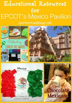 Welcome back! I hope you found a fun activity to do with your children to help them better understand EPCOT's Japan Pavilion. It's time to walk around World Showcase to to another wonderful country. This week we're visiting the spectacular Mexico Pavilion at EPCOT in Walt Disney World. It wasn't too difficult to find resources …