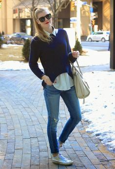 Casual outfit- Sportychic trend