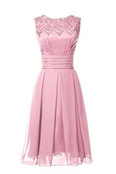 Magydre? Women's Jewel Sleeveless Ruffle Empire A -Line Chiffon Bridesmaid Dress Blush Pink Magydre http://www.amazon.com/dp/B011I8G1MI/ref=cm_sw_r_pi_dp_rhe8wb0ZZGQ8B