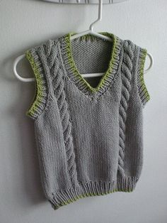 Cable Vest #70202A @ LionBrand - *pattern*