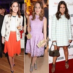 Pin for Later: All the Made in Chelsea Girls' Finest Fashion Moments