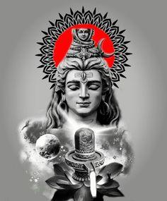 Arte Shiva, Shiva Tandav, Shiva Parvati Images, Shiva Linga, Shiva Art, Hindu Art, Photos Of Lord Shiva, Lord Shiva Hd Images, Shiva Tattoo Design