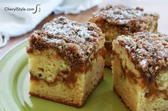 This pumpkin coffee cake is perfect for fall! - CherylStyle
