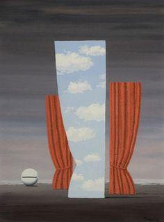 Rene Magritte, Mona Lisa, c. 1962