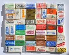 old sugar cube collection