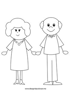 nonni Drawing For Kids, Art For Kids, Grandparents Day Cards, Stick Figure Drawing, Toddler Coloring Book, Quiet Book Templates, Stick Figures, Drawing Lessons, Zentangle Patterns
