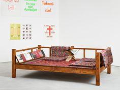 Slavs and Tatars  exhibition view, Reading Room, Kraupa-Tuskany Zeidler, Berlin, 2017  photo: def image