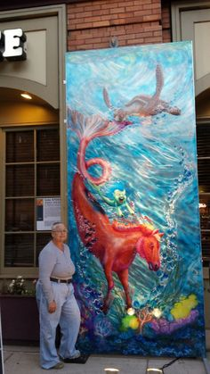 Artprize 2014, Bubble's Wild Ride and Artist Jennie Burt at Sundance Grill & Bar in Downtown Grand Rapids.  Vote 57093 when you come down this weekend..Stop and See Us!
