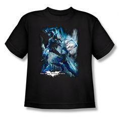 Batman Dark Knight Rises Showdown Youth T-Shirt $14.99