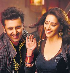 FIRST LOOK: Madhuri Dixit and Ranbir Kapoor in Yeh Jawaani Hai Deewani #Bollywood