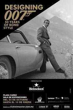 Durante 50 años de James Bond ha influenciado la cultura popular convirtiéndose en el personaje de mayor estilo. A partir del 23 de octubre hasta el 10 de enero inundará la Ciudad de México con su exposición Designing 007: 50 Years of Bond Style. Entérate en café y cabaret.
