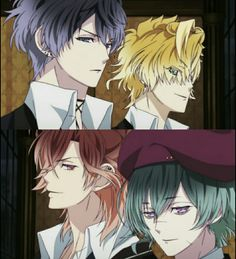 -Irmãos Mukami. Diabolik Lovers More Blood.
