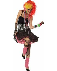 Sexy Halloween Costumes for Women, 2019 Adult Halloween Costume Ideas 80s Theme Party Outfits, 80s Party Costumes, 80s Halloween Costumes, 1980s Costume, Theme Halloween, Retro Costume, Girl Costumes, Adult Costumes, Costumes For Women