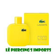 ca6924926e Perfume Eau de Lacoste L.12.12 Jaune - Optimistic 100ml Masculino Eau de  Toilette