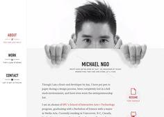 HelloMichael | CSS Website
