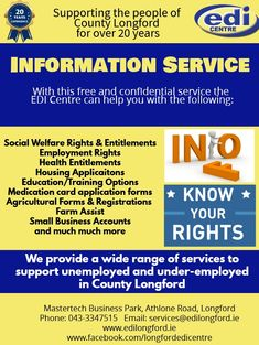 Know your rights and entitlements