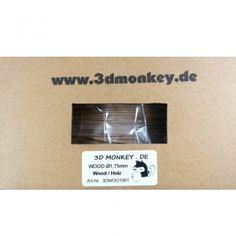 3Dmonkey HOLZ WOOD Filament 1,75mm 0,5kg ✓ zertifiziert ✓ Premium Qualität ✓ attraktiver Preis ✓ Blitzversand aus Berlin ✓ viele andere Materialien vorhanden