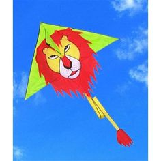 Triangle shaped head of the kite makes a perfect color matching with the red mane lion. Description from evtoys.com. I searched for this on bing.com/images