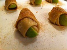 mini apple pie roll ups