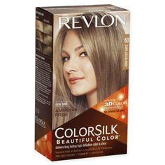 Revlon Colorsilk Beautiful Color Hair Color In 60 Dark Ash Brown Dark Ash Blonde Hair, Ash Brown Hair Color, Ombre Hair Color, Blonde Color, Cool Hair Color, Blonde Highlights, Box Hair Dye, Dyed Hair, Ammonia Free Hair Color