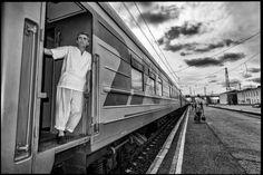Chef.   Trans Siberian Railways, Moscow-Khabarovsk, Russia