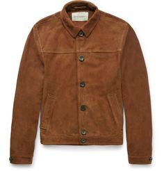 British brand Oliver Spencer is renowned for considered design and reliable attire that's easy to wear. Lightweight suede is a key look during the spring/ summer months and this 'Buffalo' jacket is exceptionally versatile. The soft, unlined construction feels undeniably luxurious while the classic shape ensures this style will be a go-to piece for seasons to come. Try it buttoned up with fine-gauge knitwear or layer it over a loose-fitting tee.