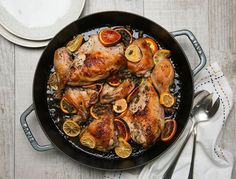 This chicken is dead easy and the mix of herbs, acidity, and sweetness balance perfectly.