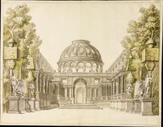 New item in my etsy shopTheatrical design for Palace Gardens Daniel Marot c1700 AD3-052 by PanchromaticaDesigns. Find it here http://ift.tt/2l4mLBZ