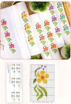 This Pin was discovered by Mar Embroidery Patterns Free, Beading Patterns, Embroidery Designs, Cross Stitching, Cross Stitch Embroidery, Hand Embroidery, Cross Stitch Boards, Cross Stitch Bookmarks, Cross Stitch Designs