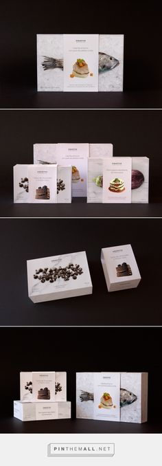 Sibaritus Gourmet Ready Food packaging design concept by Pablo Calzado, Mario Montull & María López - http://www.packagingoftheworld.com/2016/10/sibaritus-gourmet-ready-food-student.html