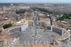 Panorámica Status Civitatis Vaticanæ  - Portal Fuenterrebollo