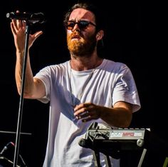 Chet Faker in I Love Ugly Alistair glasses. www.iloveugly.com #chetfaker Chet Faker, I Love Ugly, Being Ugly, Graphics, Glasses, Mens Tops, T Shirt, Fashion, Eyewear
