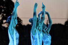 blue dancers - null