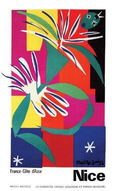 Henri Matisse, travel poster, 1950.