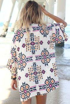 fashion Summer Women Sexy Bikini Cover Up Swimwear Long Sleeve Chiffon Beach Short Dress