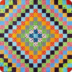 Trip around the world quilt