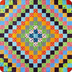 Trip around the world - red pepper quilts