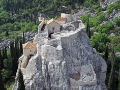Fairy tale fortress in the hills of Konavle - The Dubrovnik Times Dalmatia Croatia, Dubrovnik Croatia, Going Home, Day Tours, Alps, Monument Valley, Mount Rushmore, Scenery, Places To Visit
