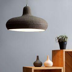 Paper Pendant Lamp - Ø 43 - alt_image_three Design Light, Lamp Design, Home Lighting, Lighting Design, Pendant Lamp, House Design, Ceiling Lights, Paper, Lamps