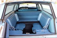Flips up facing seats in 1974 Ford Country Squire 2 (the car in the photo is an earlier station wagon. Station Wagons For Sale, Adult Fun, Ford Fairlane, The Good Old Days, My Ride, Back In The Day, Old Cars, Childhood Memories, Classic Cars