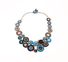 Fabulous and fun piece - so carefully crafted that even clasp is pure art!