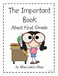 Have each student make a page for the important book. Share in August with new class of students