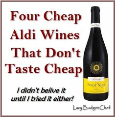 Lazy Budget Chef: Four cheap Aldi wines that don't taste cheap. Aldi Shopping, Shopping Hacks, Aldi Recipes, Wine Recipes, Aldi Wine, Types Of White Wine, Aldi Meal Plan, Cheese Party, Cheap Wine