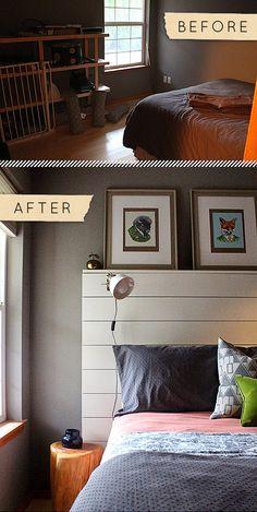 Design*Sponge | Before & After: Guest Bedroom