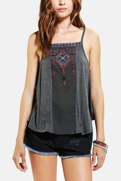 Ecote Jolynn Embroidered Cami