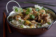 kurczak w sosie Teriyaki z sezamem Potato Salad, Potatoes, Ethnic Recipes, Food, Potato, Essen, Yemek, Meals