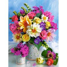 Send birthday flowers from a real Roanoke, VA local florist. George's Flowers has a large selection of gorgeous floral arrangements and bouquets. We offer flower deliveries for birthday flowers. Bright Flowers, Exotic Flowers, My Flower, Spring Flowers, Flower Art, Beautiful Flowers, Flower Power, Spring Bouquet, Flowers Gif