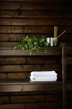 Sauna Design, Finnish Sauna, Little Cabin, Home Spa, Saunas, Finland, Interior Decorating, Cottage, Sweden